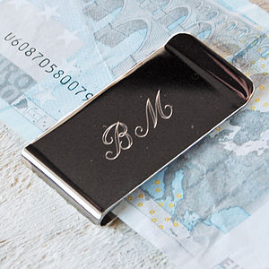 Personalised Money Clip - wedding thank you gifts