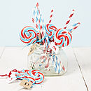 Personalised British Swirly British Lollipop