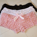 Vintage Style Wedding Frilled French Knickers