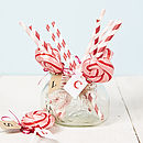 Thumb personalised pink swirly lollipop