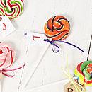Personalised Swirly Halloween Lollipop