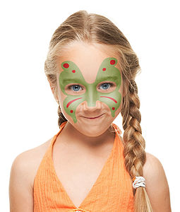 Face Paint And Stencil Set
