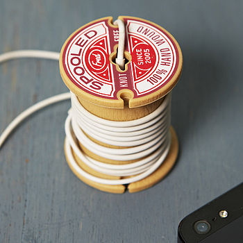 Fathers Day Spool Headphone Holder