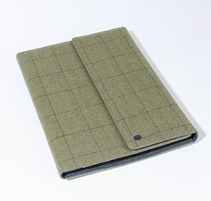 Tweed Portfolio Case - stationery