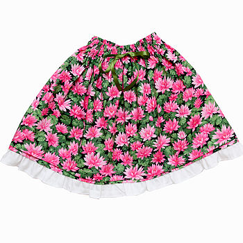 Girl's Water Lily Skirt