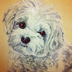 Personalised Painted Pet Portrait - paintings & canvases