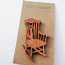 Rocking Chair Brooch