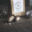 Raw Chocolate Coconut Truffles Six
