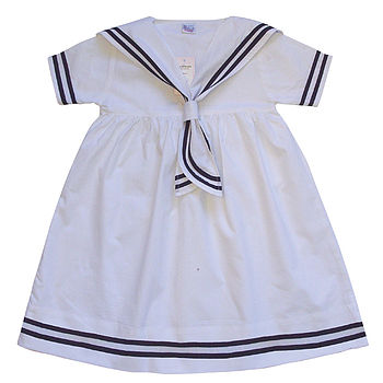 Personalised Sailor Dress And Sailor Dolly