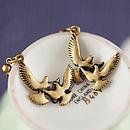 Stud Earrings - Bird