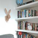 Rabbit Head Wall Trophy