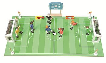 Wooden Football Match