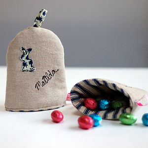 Personalised Egg Cosy - last minute easter gifts