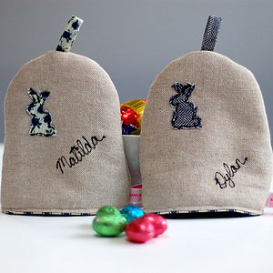 Personalised Egg Cosy - egg cups & cosies