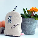 Personalised Egg Cosy