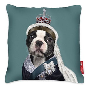 'Queen Vic' Cushion - soft furnishings & accessories