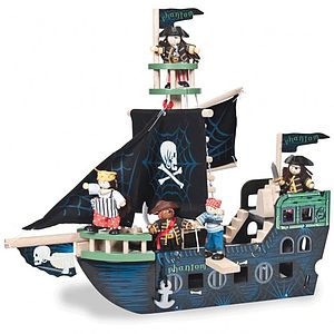 Pirate Ship - traditional toys & games