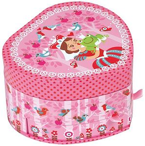 Musical Jewellery Box - children's jewellery