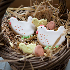 Country Chickens Biscuit Gift Set - biscuits