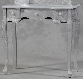 Embossed Dressing Table