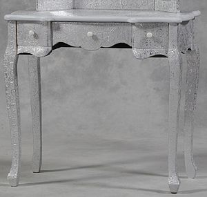 Embossed Dressing Table - furniture