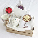 Flower Garden Egg Cup And Cosy Set