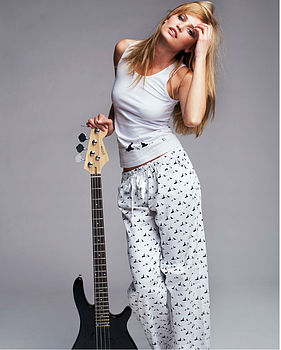 Rock and Roll Pyjama Vest and Pants Set