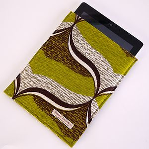 Vintage Fabric Case For IPad - laptop bags & cases