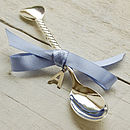 Personalised Spoon With Silver Initial