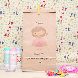Personalised Princess Party Bag