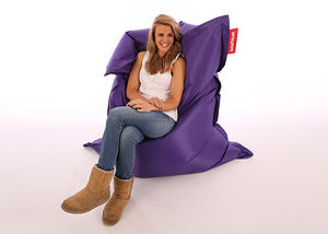 Giant Outdoor Bean Bag - furniture