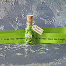 Message In A Bottle For Dad