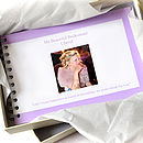 Personalised Bridesmaid Book