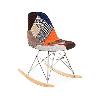 Chair, Eames Style, Rocking Chair, Retro