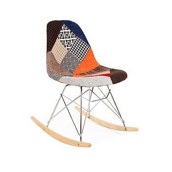Chair, Eames Style, Rocking Chair, Retro