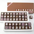 Personalised Chocolates For Easter