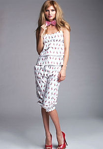 Queen Cami And Quarter Pants Pyjama Set - lingerie & nightwear