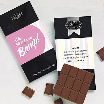 'For The Bump' Pregnancy Chocolate