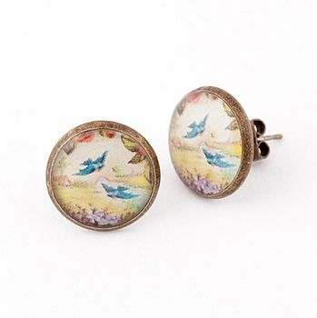 Birdy Earrings A