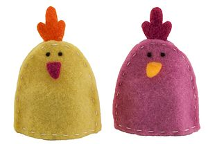 Felt Chick Egg Cosy - easter home