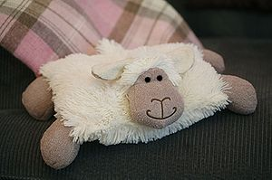 Sheep Soft Toy Cushion - children's room
