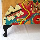 Pinball Storage Sideboard Bench