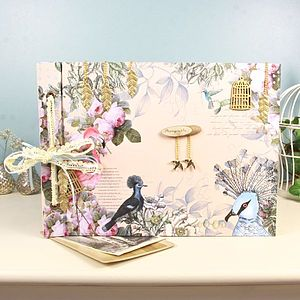 Aviary Photo Album Or Notebook - albums & guestbooks