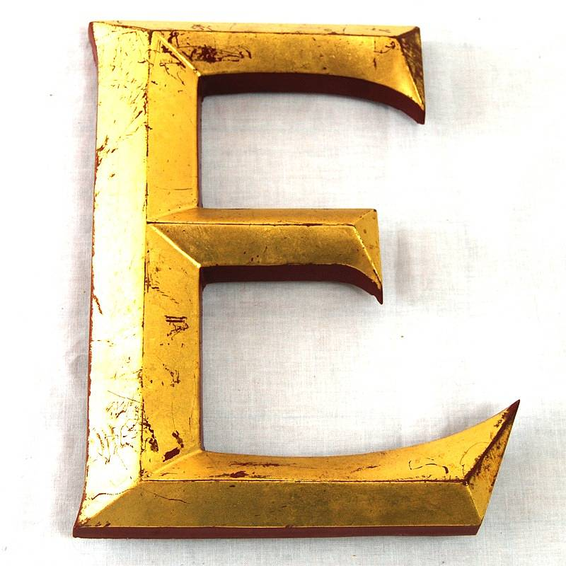 vintage gold leaf display letters lgbt congo and bisexual