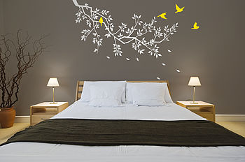 Wall Stickers: Spring Branches White