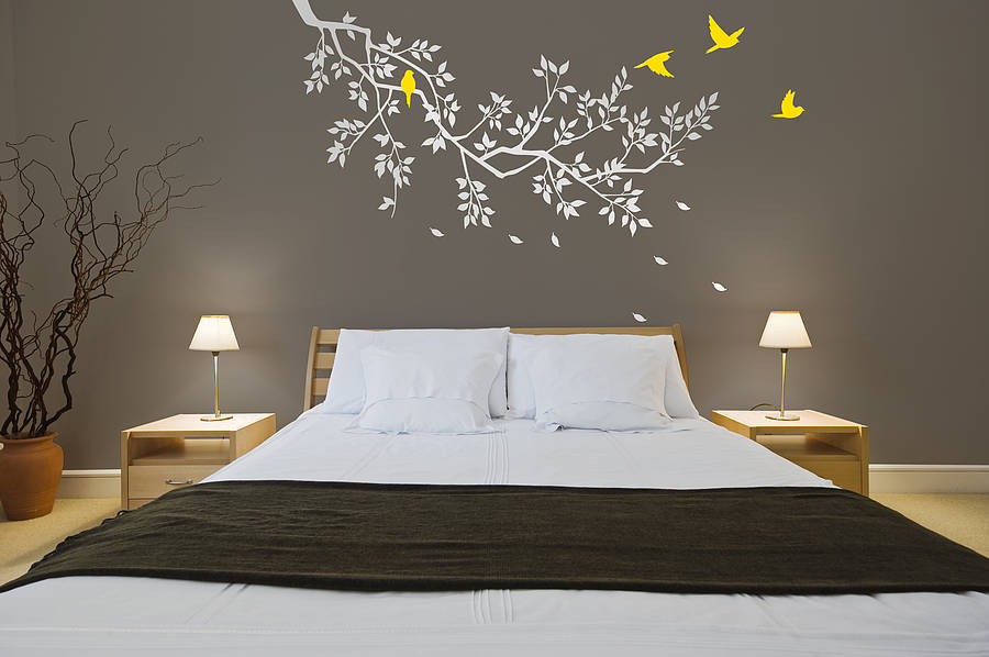High Quality Wall Stickers: Spring Branches White