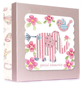 Baby Girl's Keepsake Box - children's room accessories