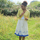 Elspeth Skirt Make A Wish Cream/Blue