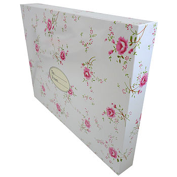 Pink Floral Gift Box