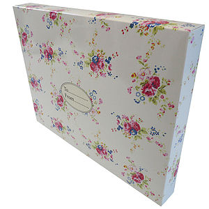 Roses Love Design Gift Box - cards & wrap